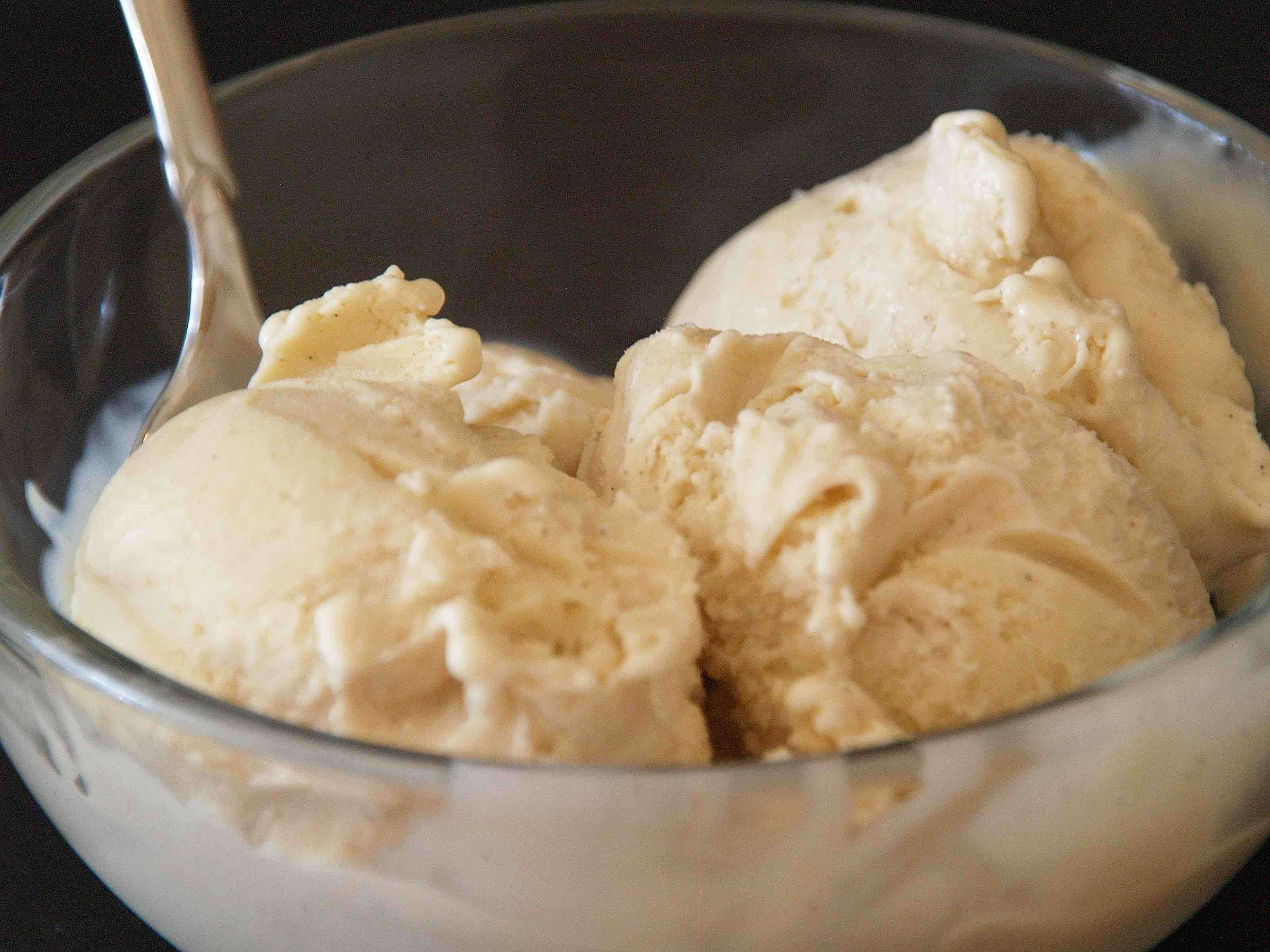 Very Vanilla Bean Ice Cream | Romancing The Onion