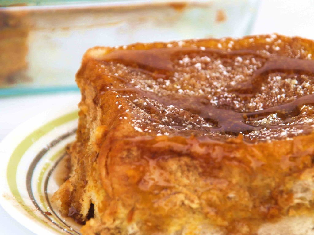 RTO Pumkin French Toast Bake